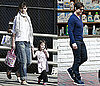 Photos of Katie, Suri, Connor and Tom