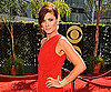 Slide Photo of Debra Messing at 2009 Emmy Awards