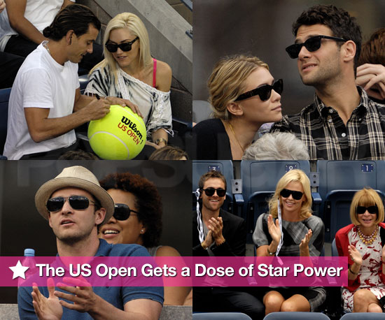 Photos of Celebrities Watching US Open Day 13 and 14