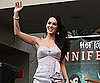 Slide Photo of Megan Fox Waving to Crowd at Jennifers Body Event