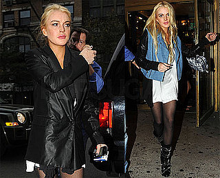 Photos of Lindsay Lohan Out in NYC Before a Big Fight With Samantha Ronson