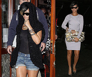 Photos of Rihanna in Different Outfits in NYC
