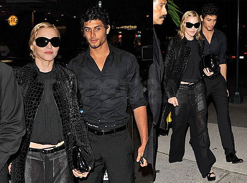 Photos of Madonna and Jesus Luz Seeing Hugh Jackman and Daniel Craig on Broadway