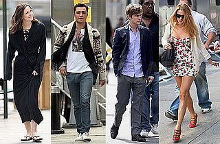 Photos of Leighton Meester, Chace Crawford, Ed Westwick Filming Gossip Girl in NYC
