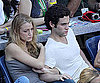 Slide Photo of Blake Lively and Penn Badgley Watching the US Open