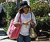 Slide Photo of Eva Longoria Carrying Bags in LA