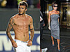 Shirtless Photos of David Beckham Playing Soccer, Victoria Beckham On The View