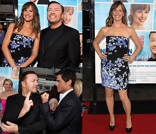 Photos and Video of Jennifer Garner, Ricky Gervais, Rob Lowe at The Invention of Lying LA Premiere and on Jay Leno Show