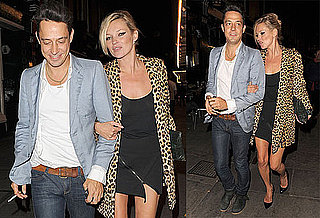 Photos of Kate Moss and Jamie Hince Leaving Dinner in London
