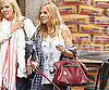Slide Photo of Sienna Miller Walking her Dog in SoHo
