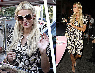 Photos of Paris Hilton Shopping and Partying in LA