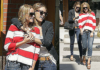 Photos of Lauren Conrad, Lo Bosworth Wearing Matching Shoes in LA