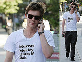 Photos of Xavier Samuel in Vancouver