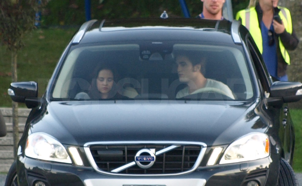 Robert and Kristen on Eclipse Set