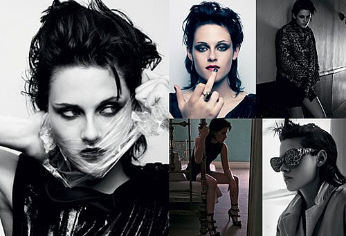 Video of Twilight's Kristen Stewart Posing For Interview Magazine