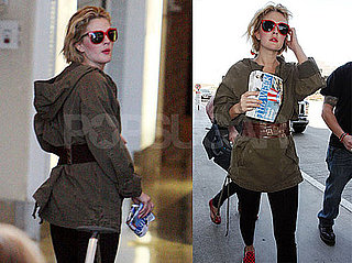 Photo of Whip It Director Drew Barrymore at LAX
