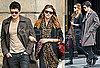 Photos of Orlando Bloom And Miranda Kerr Walking in Paris