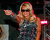 Slide Photo of Paris Hilton at a Fashion Show for her Sunglasses Line