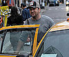 Photo Slide of Gerard Butler Getting a Taxi in NYC