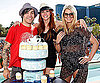 Slide Photo of Ashlee Simpson Celebrating her 25th Birthday in Vegas with Pete Wentz and Jessica Simpson