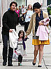 Photos of Tom Cruise, Suri Cruise and Katie Holmes in Boston