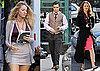 Photos of Blake Lively, Leighton Meester, and Ed Westwick Filming Gossip Girl in NYC