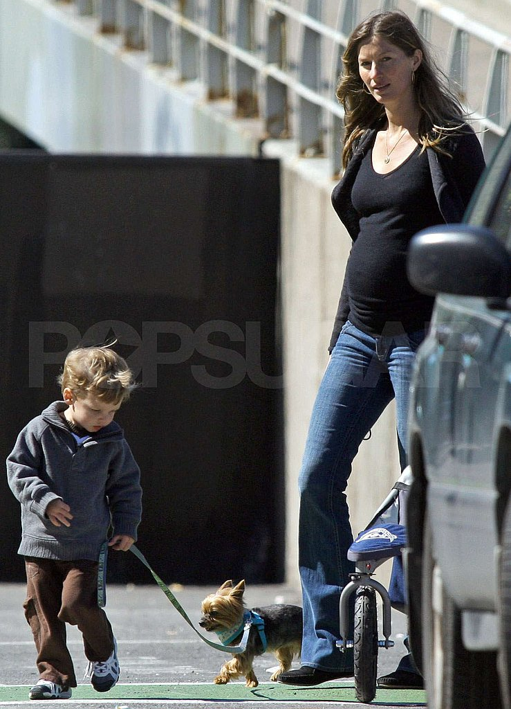Photos of Gisele Bundchen and Jack