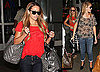 Photos of Lauren Conrad, Lo Bosworth at LAX