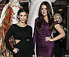 Slide Photo of Kim and Khloe Kardashian Hosting Famous Cupcakes Grand Opening in LA