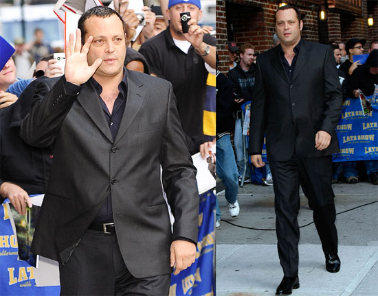 Photos of Vince Vaughn on the Late Show 2009-10-08 09:29:48