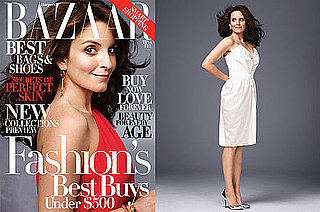 Photos of Tina Fey on Cover and in Harper's Bazaar Magazine with Interview