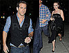 Photos of Scarlett Johansson, Ryan Reynolds Leaving SNL After Performing