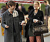Slide Photo of Chace Crawford and Blake Lively Filming with Ice Cream on Gossip Girl