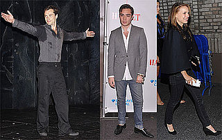 Photos of Jude Law's Opening Night of Hamlet on Broadway With Ed Westwick and Natalie Portman