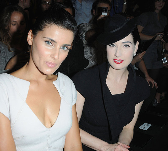 Photos of Katy Perry and Russell Brand at Fashion Week
