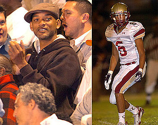 Photos of Will Smith Watching His Son's Football Game in LA
