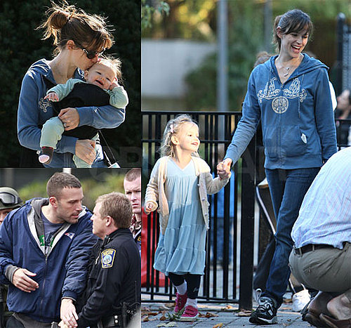 Photos of Ben Affleck and Jennifer Garner Together in LA; Ben Finds Out He's Related to Matt Damon