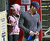 Slide Photo of Scarlett Johansson and Ryan Reynolds Leaving LA Gym