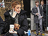 Photos of Blake Lively with Her Puppy Penny and CoStar Chace Crawford on the Set of Gossip Girl