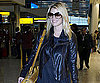 Slide Photo of Jessica Simpson Walking Through Heathrow Airport