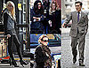 Photos of Ed Westwick, Jessica Szohr, Leighton Meester, Hilary Duff and Taylor Momsen on the Set of Gossip Girl