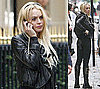 Photos of Lindsay Lohan, Who's Accused of Taking Clothes From Arielle De Pinto, Claiming the Ronsons Are Keeping Her From Sam