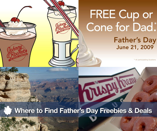 Father's Day Freebies and Deals