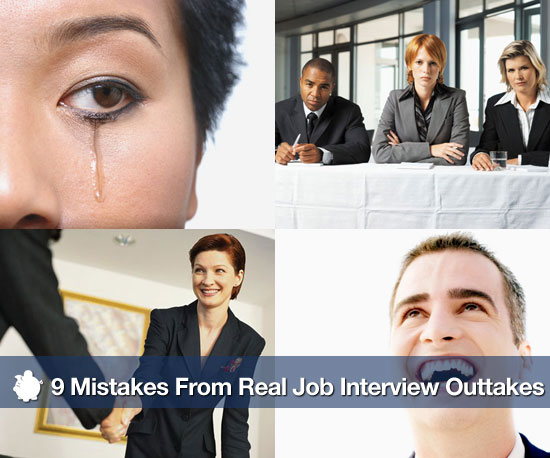 Mistakes From Real Job Interview Outtakes