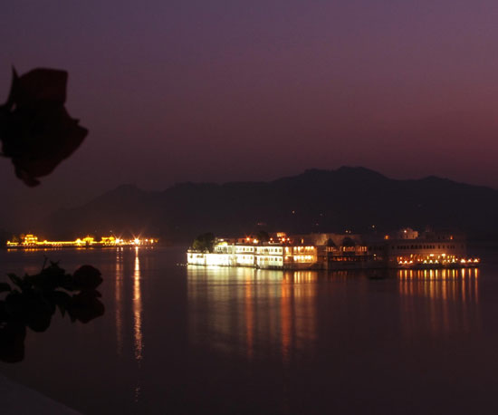 White Taj Lake Palace