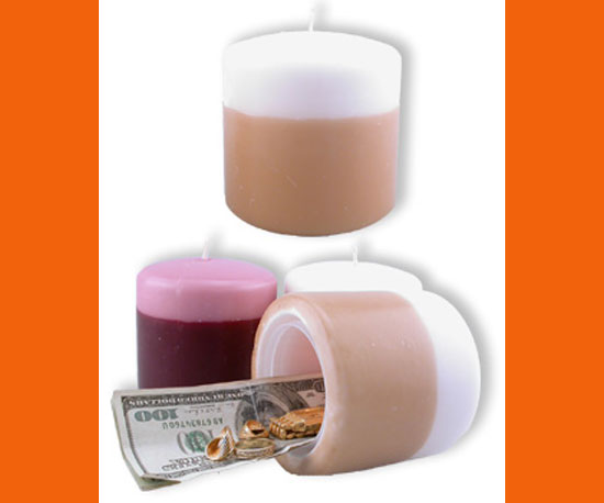 Diversion Safe Candle