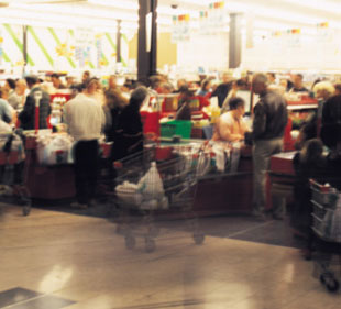 Grocery Store Checkout Line Wait Times By City