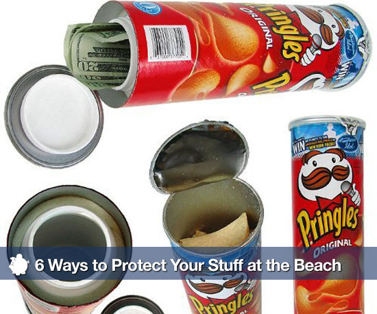 6 Ways to Protect Your Stuff at the Beach