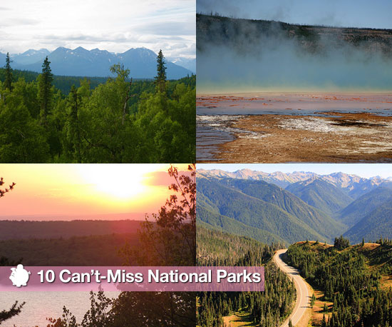 Conde Nast Traveler Recommends 10 National Parks