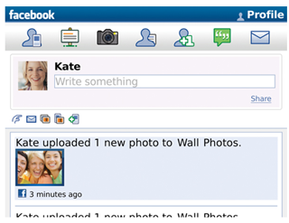Facebook 6.1: Now Ready For the BlackBerry
